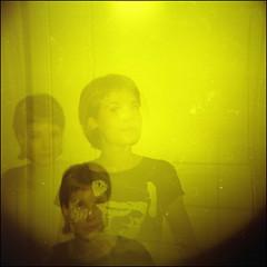 trio (nini_tajlor) Tags: girl holga lomo friend kodak moscow coloured yulya 120cfn 400vc