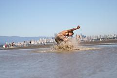 Andy Skim Boarding 6 (photos.by.ed) Tags: beach vancouver spanishbanks skimboarding