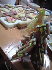 クリスマス恒例?お絵かきクッキー