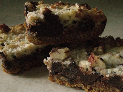 mmmmmmagic cookie bars