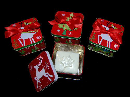 holiday graham cracker tins