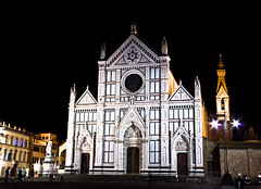 Santa Croce at Night by Justin Korn