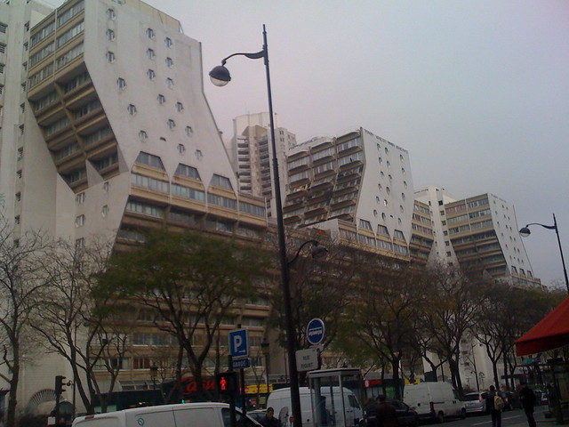 Amazing housing complex paris