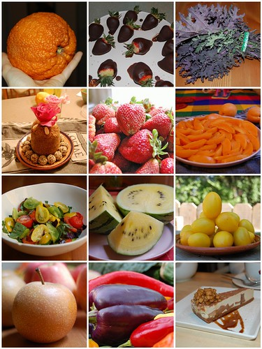 12 months of raw food