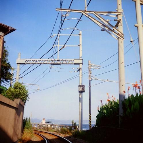 江の電線路
