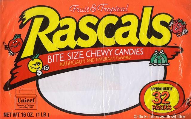Rascals Candies - 1989