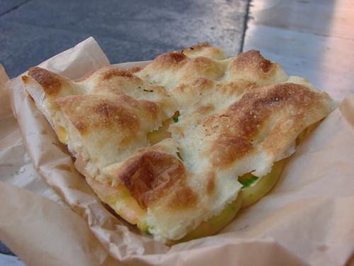 Pizza bianca sandwich from Pizza al Taglio from Forno Campo de' Fiori