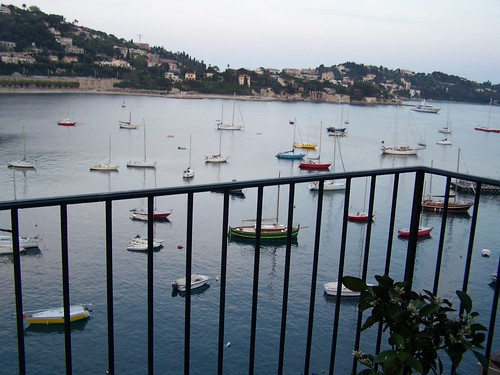 Summer evenings in Villefranche