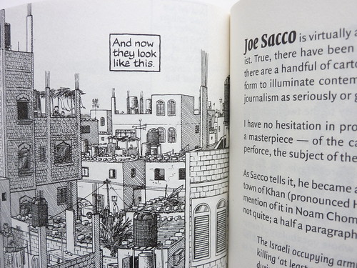 The Comics Journal #301 - Joe Sacco detail