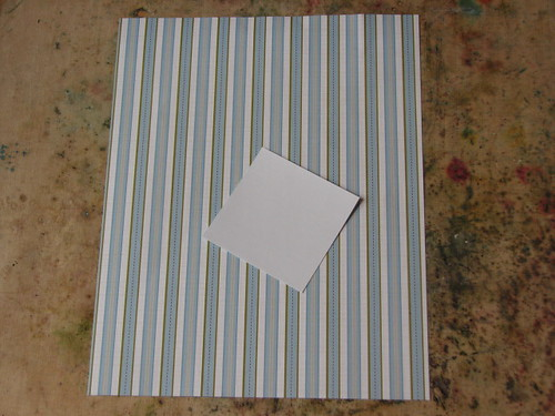 Origami Shirt Card & Tie 001