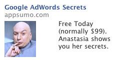 Dr. Evil Facebook Ad