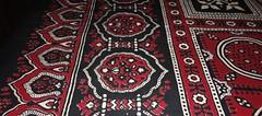 Ajrak Sindhi: اجرڪ (Abdul Hakeem Memon) Tags: handicraft shawl sindh blockprinting sindhi ajrak اجرڪ