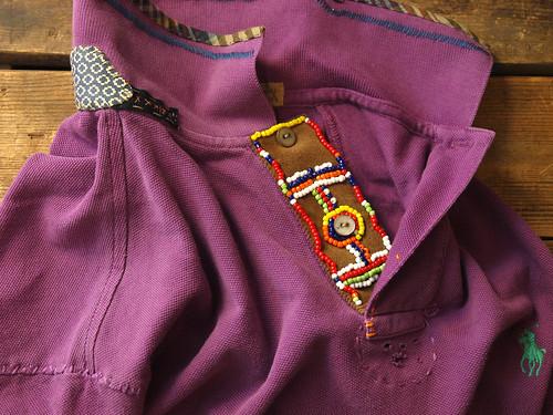 Ralph Lauren / Custom-Fit Beaded Placket Polo