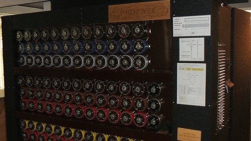 Working Replica of the Bombe