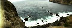 Ocean (azurblue) Tags: ocean verde xpro lomography cabo cross horizon processed perfekt