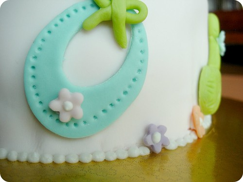 Baby Shower Cake - Baby Bibb