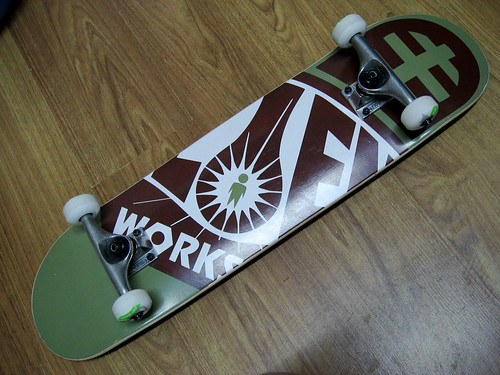 My skateboard - back