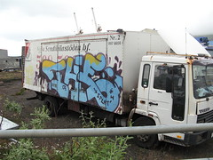 The 2007 (icetrucks) Tags: truck suck graffiti iceland cock 17 2007 splat thecrew kegr