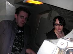 Erik and Kristin go to Space