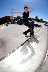 (Taylor Fitz-Gibbon) Tags: arizona mike funny arms skateboarding salute fisheye skatepark captain tranny thunderbird limb frontboard mikelimb