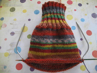 Ravelry: Socks Knit on a Small Circular Needle pattern by ...