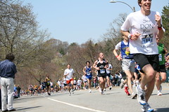 Boston Marathon Heartbreak Hill 1
