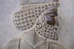 procession 1, Persepolis (luca.m.) Tags: macro iran persia archeology persepolis basrelief ach zagros achemenide archologie