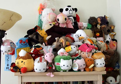 stuffy friends (kitkabbit) Tags: cute plushies kawaii stuffies sanx nyanko atashi novastarlet