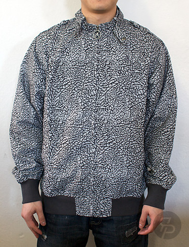 Jordan Elephant Print Members Only Jacket
