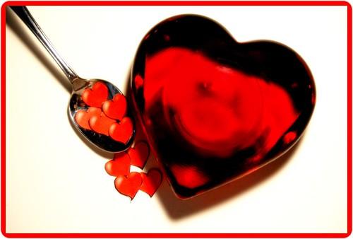 amore cuore. mangio amore e mangio TE che