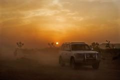 The last Ride Together (Max Loxton) Tags: old pakistan sunset canon evening sand desert jeep rally 300mm cholistan bahawalpur derawarfort yasirnisar f4lis