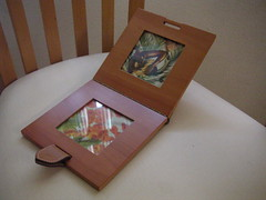 H  photo frame in pearwood (jaegerhomme) Tags: h change tray pearwood