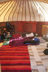 Inside our Yurt (Manik23) Tags: spain lifestyle yurts alpujarra orgiva travellingsustainable