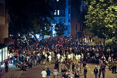Theodor Heuss Street after Euro 2008 Semi Finals