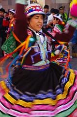 Cusco festival parade