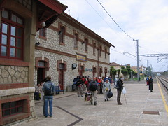 "Sahagun Train Station • <a style=""font-size:0.8em;"" href=""http://www.flickr.com/photos/48277923@N00/2622116109/"" target=""_blank"">View on Flickr</a>"