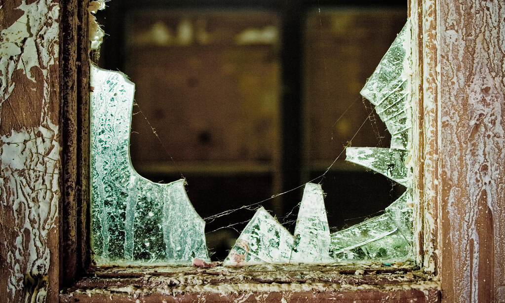 Broken Window by shinealight, on Flickr