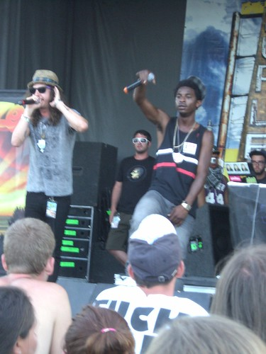Schwayze at Warped Tour in Orlando