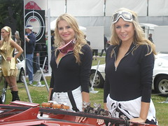 P7110149 (saabfan) Tags: girls cars girl james babe babes bond 2008 fos goodwood 007 motorsport chichester festivalofspeed