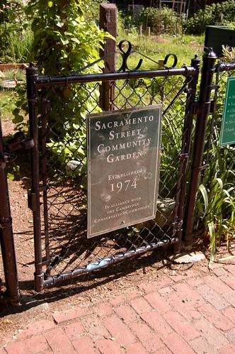 Sacramento Street Community Garden