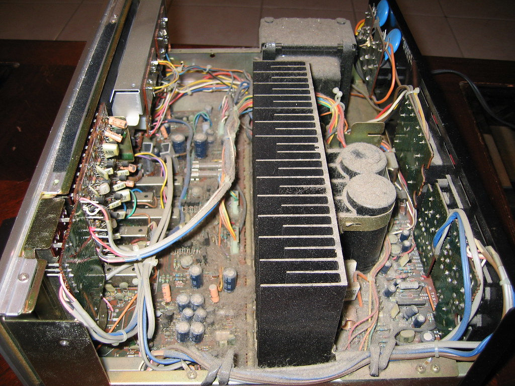 Jvc Ja S44 A Restore And Some Respect For Good Design Equalizers Crossovers Wiring Kits Caps More Click On Picture To Img