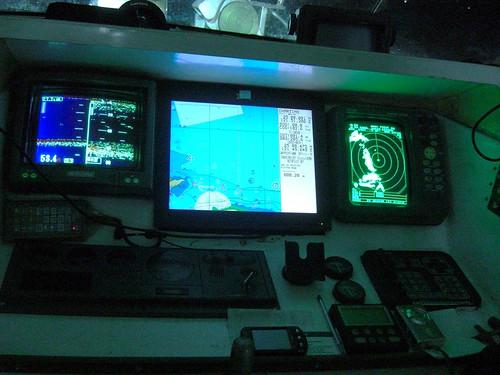 船上的導航系統