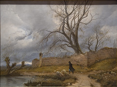 Wanderer in the Storm, 1835 (Maulleigh) Tags: new york city art museum von met julius metropolitan metropolitanmuseum leypold