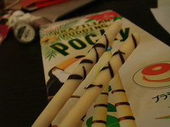 Pudding Pocky