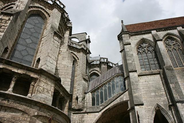 chapel stairway