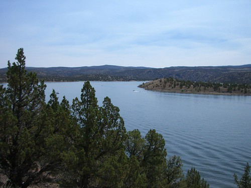 The Reservior from the trail