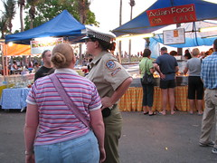 Copper (GeoWombats) Tags: community nt markets july police australia darwin beat 2008 mindilbeach geowombats