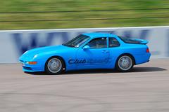 Blue Club Sport (Matt_Daniels) Tags: england porsche motorsport rockinghammotorspeedway 968clubsport d40x