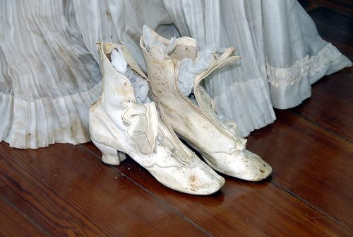 White women shoes
