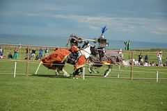 Jousting (Jonathan Bateman) Tags: jousting scarboroughcastle